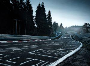 Mural Nürburgring circuit
