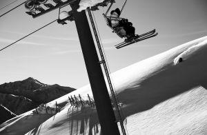 Mural Ski Lift