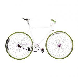Mural white bike