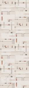 Pixels Turquoise panel