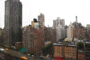 Rainy NYC Mural