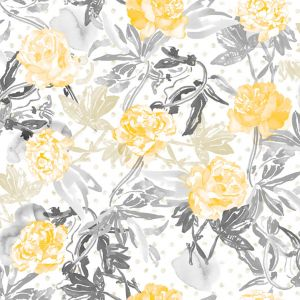 wallpaper roses gold jungle