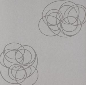 Spin silver wallpaper