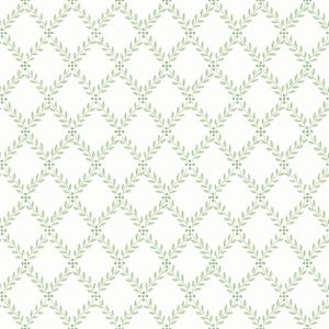 Trellis Leaves 7671 wallpaper