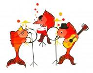Musical Fish Mural