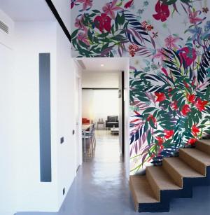 Mural Flower Print