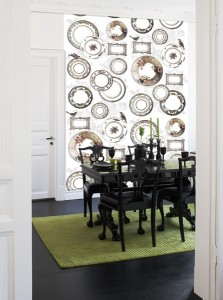 Plate Collection Mural
