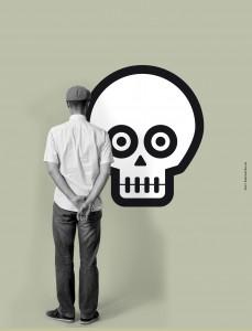Skull Mural