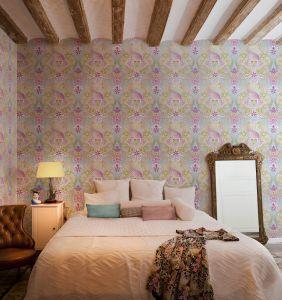 Catalina Estrada Wallpaper Swans Oro