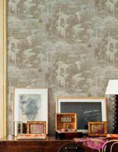 Claude Gold wallpaper