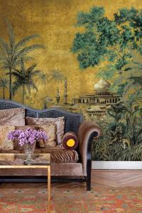 Mural Taj Mahal Maca