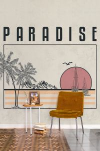 Mural Paradise Warm