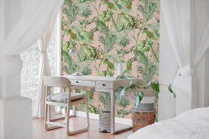 Vegetable Pink wallpaper