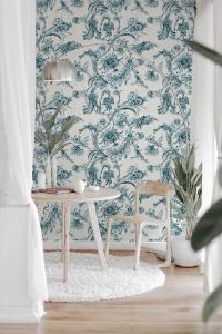 Mithology Blue wallpaper