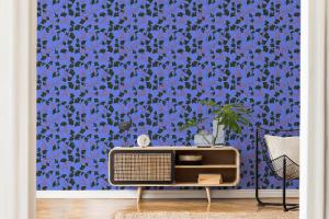 Furoshiki Indigo wallpaper
