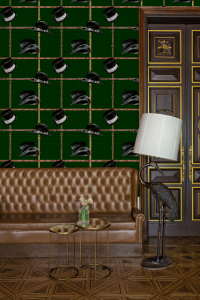 Ascot Green wallpaper