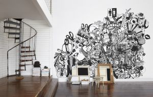 Chaotic Mural