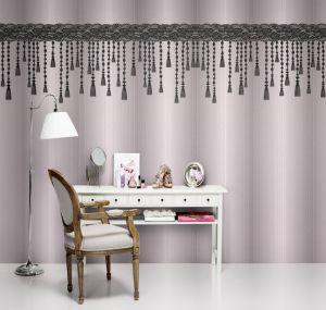 tassels mural pink