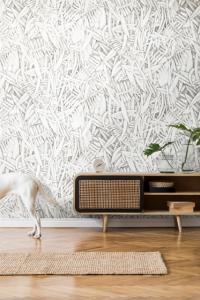 Prosa Green/Orange wallpaper