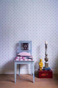 Liberty flowers pink wallpaper
