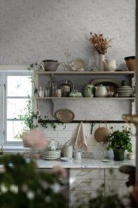 Helen´s Flower White wallpaper