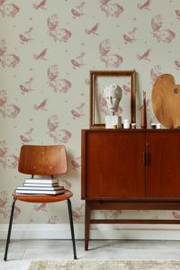 Sweet Birds Papirus wallpaper