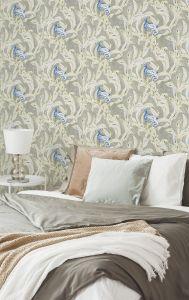 Exótico Indigo wallpaper