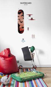 Mural skate manual