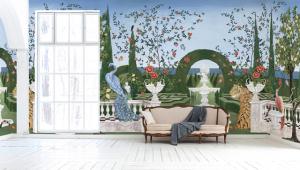 Mural Dédale Bloom