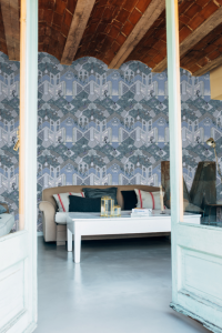 Spaceless Lilac wallpaper