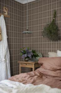 Tailor´s Tweed Brown wallpaper