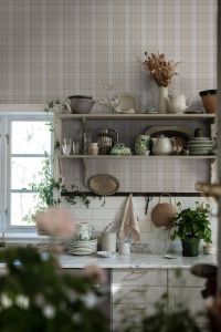Tailor´s Tweed Beige wallpaper