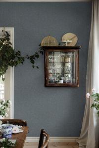 Weaver´s Wall Blue wallpaper