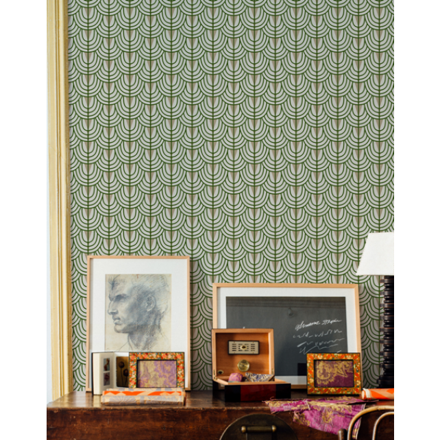 Camille Silver wallpaper