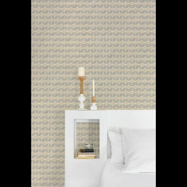 Straw Neutral wallpaper