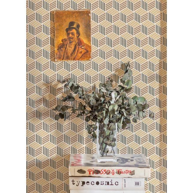 Straw Silver wallpaper