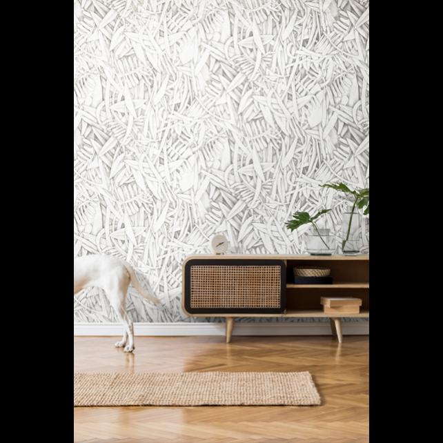 Prosa Beige/Green wallpaper