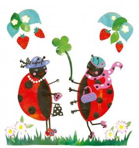 Ladybirds Mural