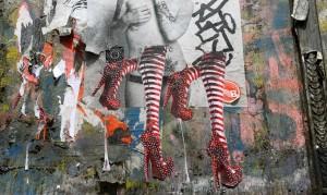 Bowery Stockings Mural