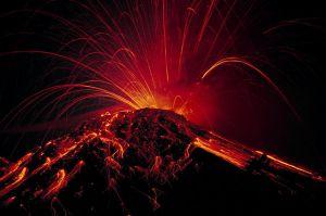 Volcano Mural