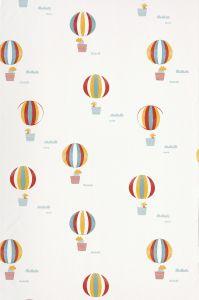 White Balloons Wallpaper