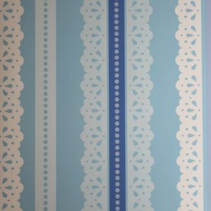 wallpaper,Catalina,Estrada,blue,lace,white