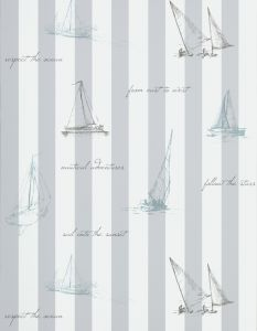 SAILING GRAY WALLPAPER