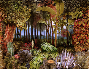 Mural Botánico Spring by José Manuel Hortelano-Pi
