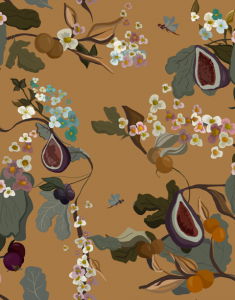 Fruits Terracota wallpaper by Joselu Montojo