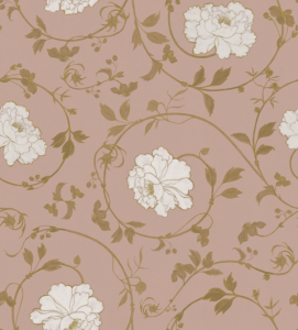 Mirabelle Gold wallpaper by Lorenzo Meazza