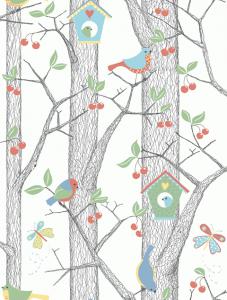Cherry Friends 6261 wallpaper