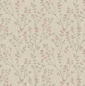 Branch Gold Wallpaper