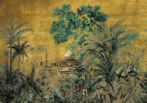 Mural Taj Mahal Chai