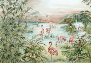 Mural Roseus Aloe